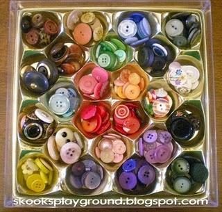 Great Storage Idea!: Organization, Organizing Tips, Buttons, Craft Ideas, Storage Ideas