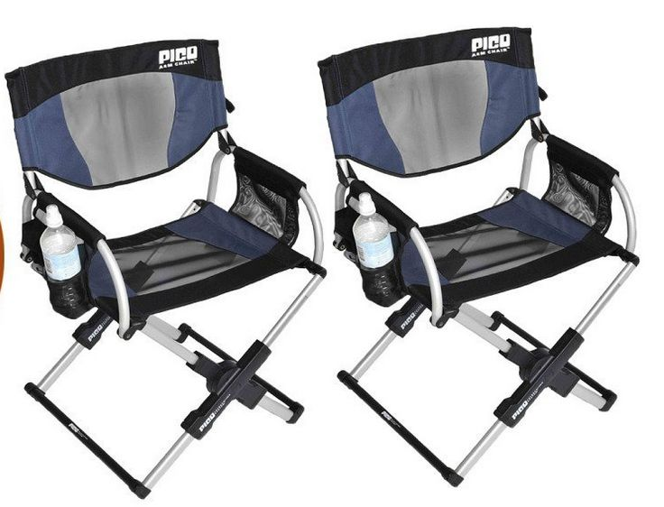 Set Of 2   PICO ARM CHAIR Telescoping Directoru0027s Chair ** Continue To The  Product At The Image Link.