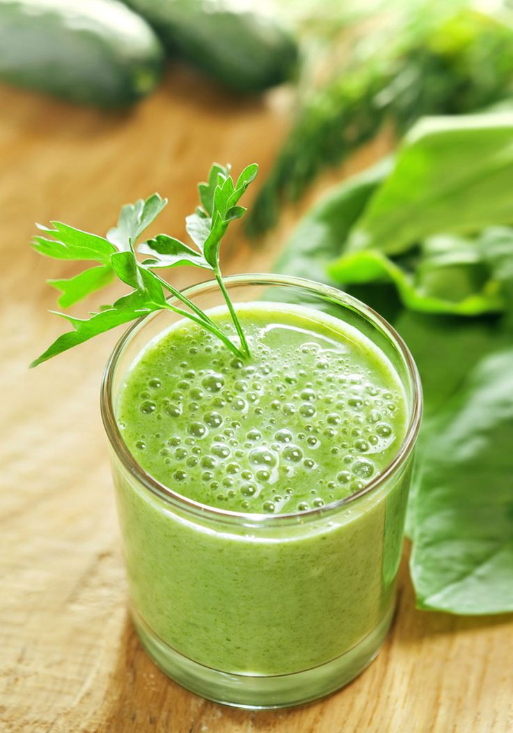 Dr. Oz's Energizing Green Drink Recipe