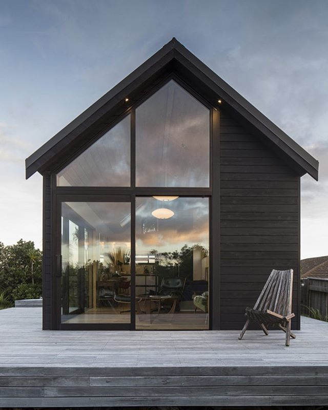 The 45m2 Thurston Studio, #Wellington #NewZealand by Architect Cushla Thurston | More images @tinyhousemag #interiors #interiordesign #architecture #decoration #interior #home #design #camper #bookofcabins #homedecor #house #decor #prefab #diy #campervan #compactliving #fineinteriors #cabin #shed #tinyhomes #tinyhouse #cabinfever #foodtruck #tinyhousemovement #airstream #treehouse #cabinlife #cottage