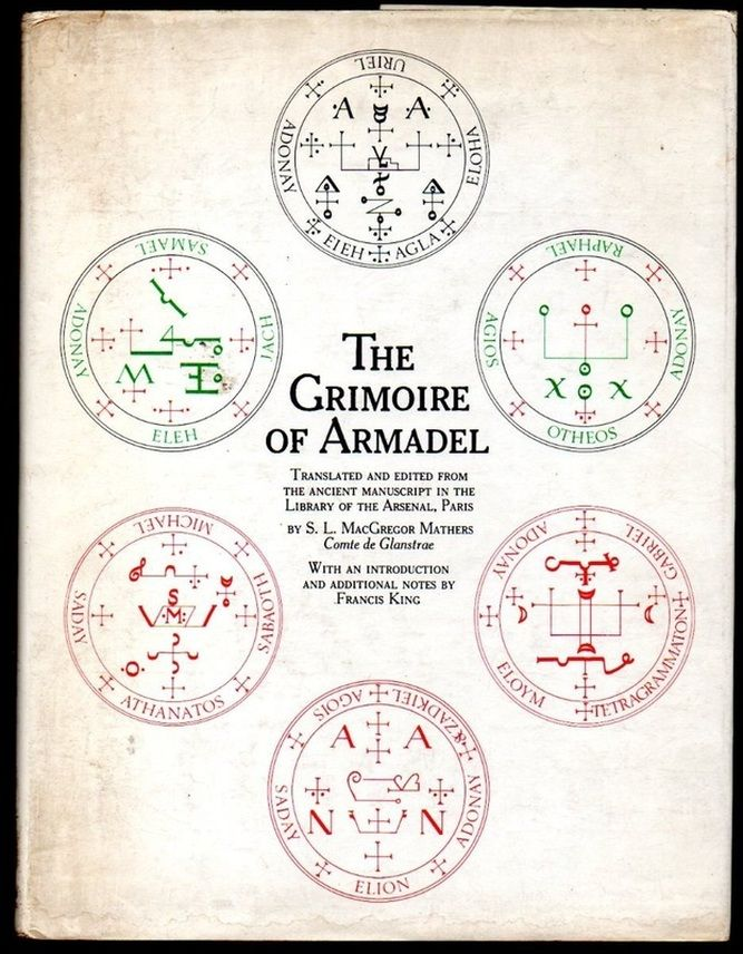"The  Seven Archangel sigils come from the ancient book ""The Grimoire of Armadel"" which contains sigils and invocations used to call forth the power of the Archangels."