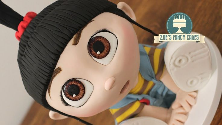 3D Agnes cake Despicable Me cakes Minions - YouTube