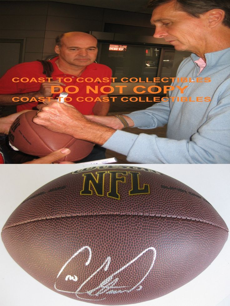Cris Collinsworth, Cincinnati Bengals, Florida Gators, Signed, Autographed, NFL Football, a COA with the Proof Photo of Cris Signing Will Be Included with the Football