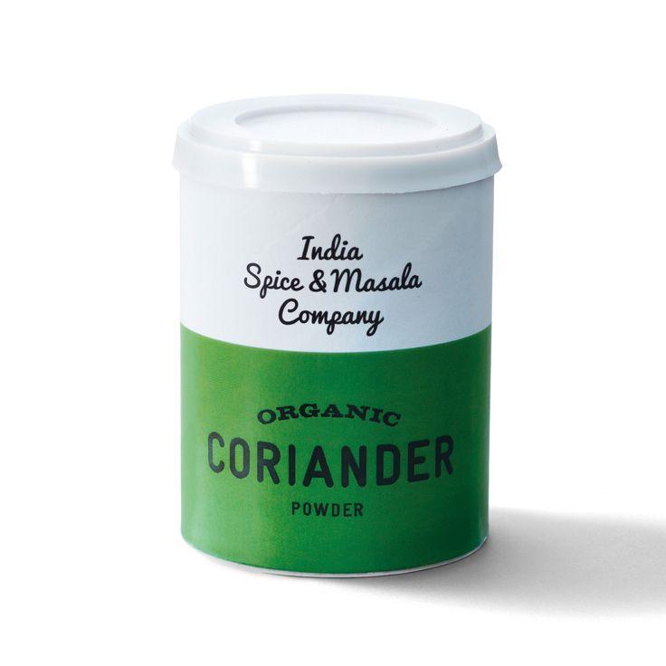 indiaspicemasalacompany: ORGANIC CORIANDER POWDER  大さじのスプーンが入る容器でスパイスカレー作りに最適です。香りは花の甘い香りも感じられるオーガニックスパイス。インド料理には欠かす事のできないで、スパイス同士の繋の役目を担う。