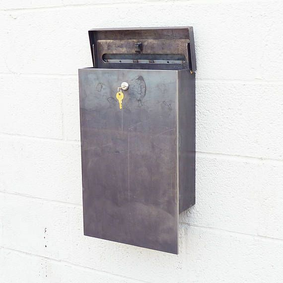 Product Description The Andover Mailbox Is New Wall Mount Mailbox Featuring The Same Crisp Rugg Post Box Wall Mounted Custom Mailboxes Wall Mount Mailbox