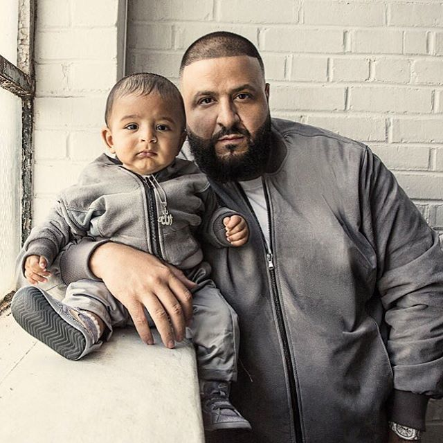 """3,854 Likes, 39 Comments - MEFeater Magazine (@mefeater) on Instagram: """"Dj Khaled and his son Asahd for XXL Magazine"""""""