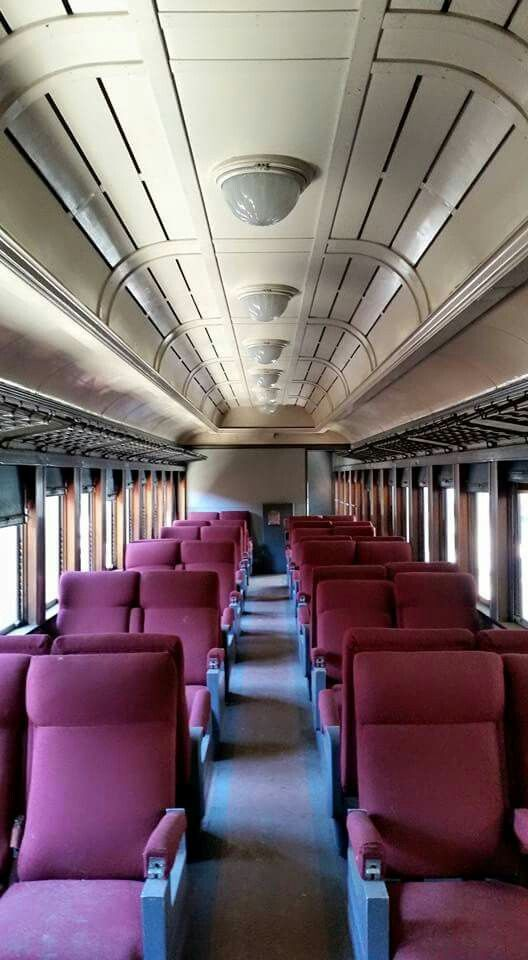 the interior of former southern railway clerestoried coach. Black Bedroom Furniture Sets. Home Design Ideas