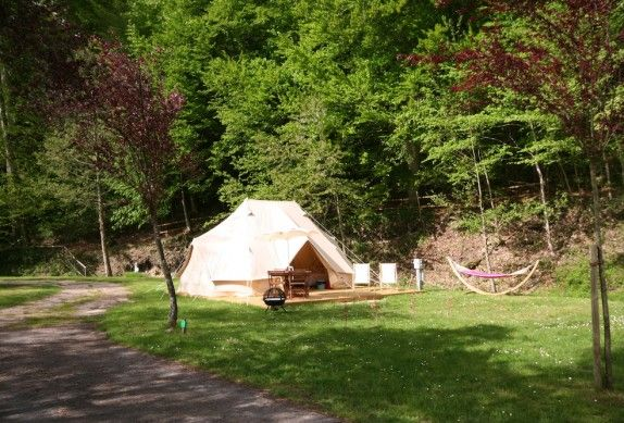 Glamping in France, Normandy - Camping Le Brevedent