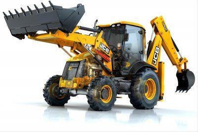 Stavební stroje JCB