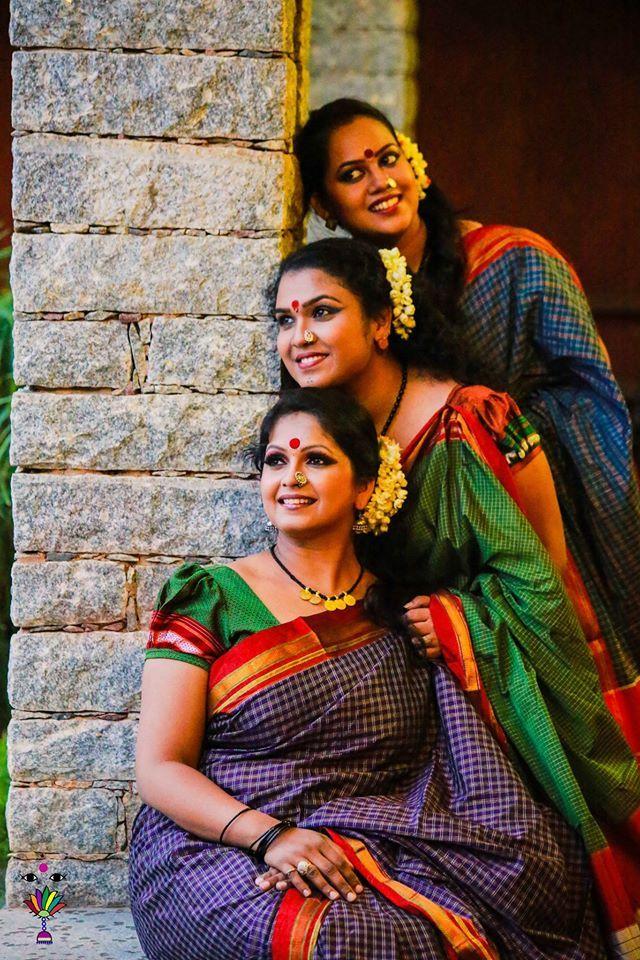 Beautiful ladies of India