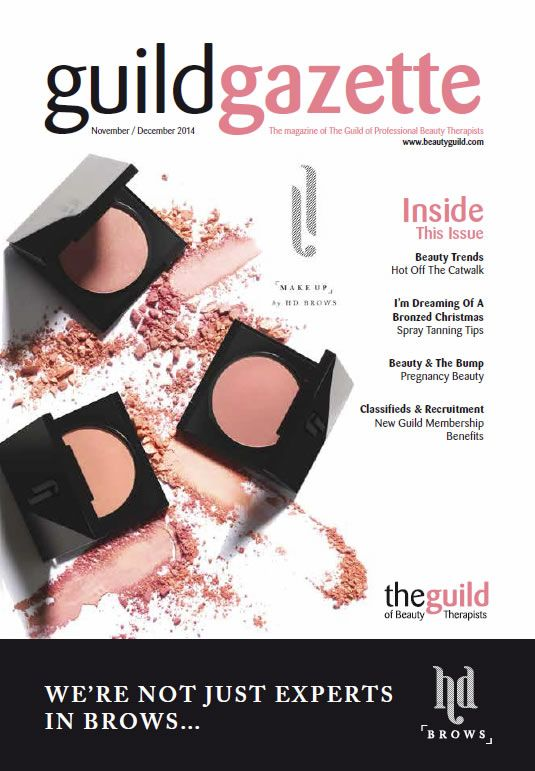 Nov/Dec 2014 Guild Gazette with HD Brows Front Cover
