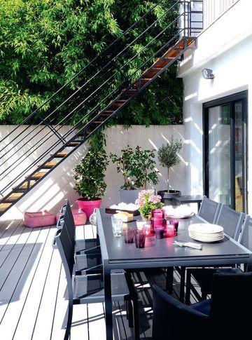 Les 17 meilleures images du tableau escalier exterieure sur Pinterest - Combien Coute Une Extension De Maison