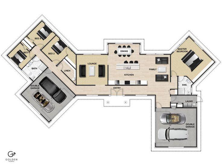 Mono 300 Floorplan #GoldenHomes