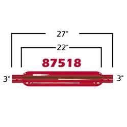 Cherry Bomb 87518CB - Cherry Bomb Glasspack Mufflers