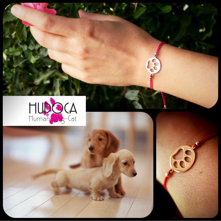 sterling silver paw print bracelet https://www.etsy.com/shop/HUDOCA