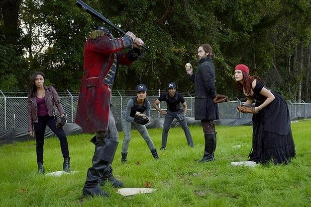 """20 Times The Cast Of """"Sleepy Hollow"""" Proved They Are Utterly Adorable. """"Neither a cardinal nor a sock are very intimidating adversaries."""" -Crane"""