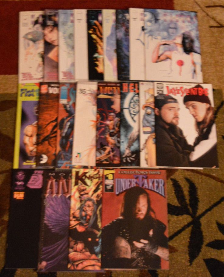 Cheap Comic Books #WWE #JayandSilentBob #Kabuki #Anime #Imagecomics #Undertaker #Wetworks #collectiblecomics #comiccon #comicbookcollection #cheap #sale #buymycomicbboks #$1 #wholovescomicbooks #comicbooksforsale #cheapcomics #kungfu #fistofthenorthstar