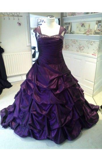 109 best Purple wedding dresses images on Pinterest | Purple wedding ...