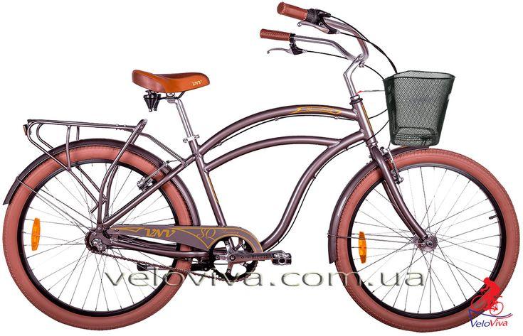 Велосипед VNV Squadron Luxury  Городской велосипед VNV Модель: Squadron Luxury Размер колеса: 26 дюймов Количество скоростей: 3speed Вилка: жёсткая  https://youtu.be/MuGbCFV9pxg