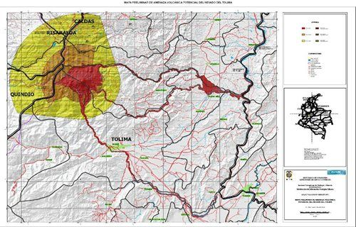 SGC - Servicio Geológico Colombiano - Mapa de amenaza
