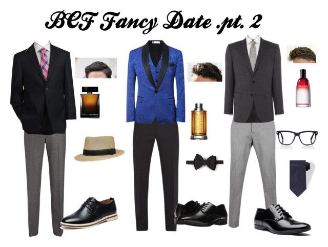 """bcf fancy date pt 2"" by peaches200214 on Polyvore featuring Joseph, Dolce&Gabbana, Vivienne Westwood Man, HUGO, Pronto Moda, Christian Dior, Versace, Stacy Adams, Dsquared2 and Tom Ford"