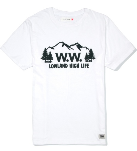 Wood Wood White 123 HIGHLIFE T-Shirt