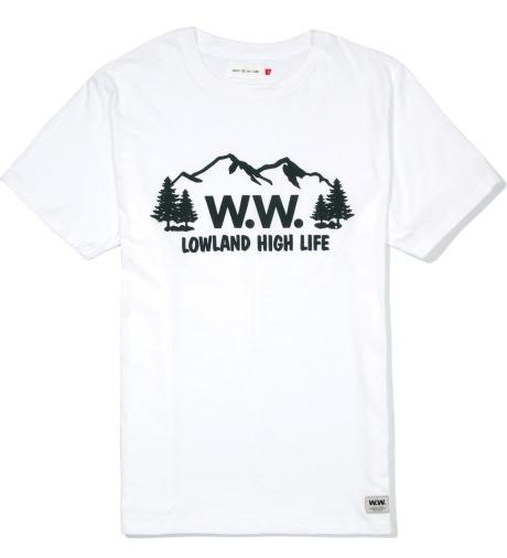 Wood Wood White 123 HIGHLIFE T-Shirt