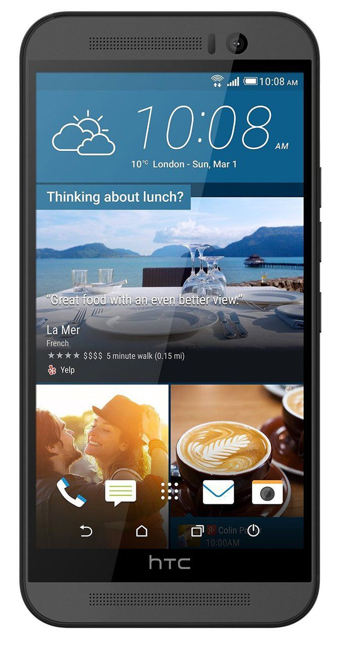 HTC One M9 SIM-Free Smartphone - Gunmetal smartphone sold and dispatched by sta mobiles. Have the smartphone for yourself or sell as a gift