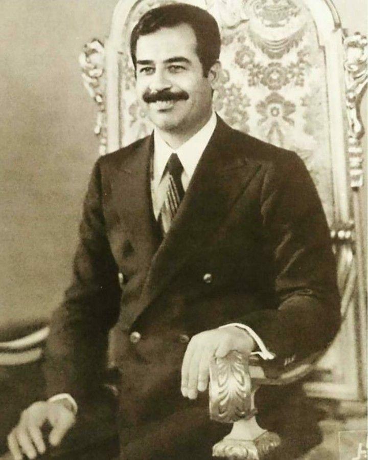 Pin By روائع الصور On صور صدام حسين عالية الوضوح Iraqi President Beard Logo Historical Figures