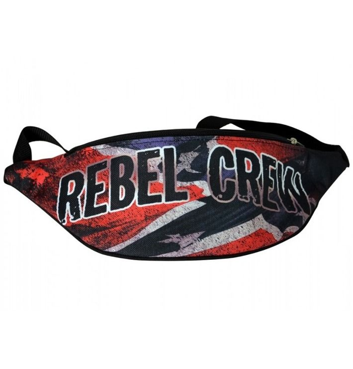 Saszetka nerka 'Rebel Crew' ---> Streetwear shop: odzież uliczna, kibicowska i patriotyczna / Przepnij Pina!