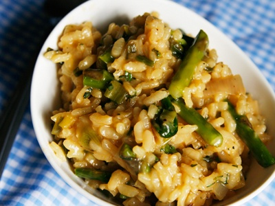 Roasted Spring Vegetable Herbed Risotto from Sarah's Cucina Bella ...