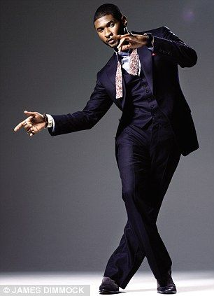 | Usher wears: suit, Tom Ford; shirt, Shipley & Halmos; bow tie, Vintage ...