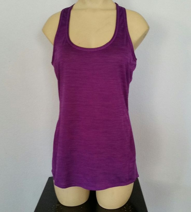ATHLETA Shadow Stripe Chi Tank Beach Plum Med Tall Racerback Athletic Running  | Clothing, Shoes & Accessories, Women's Clothing, Athletic Apparel | eBay!