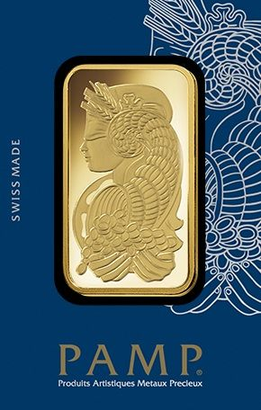 PAMP Suisse Lady Fortuna 1 Oz Gold Bar Product Information