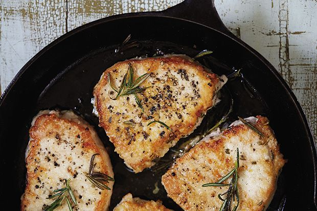 Find the recipe for Rosemary Pork Chops and other pork chop recipes at Epicurious.com