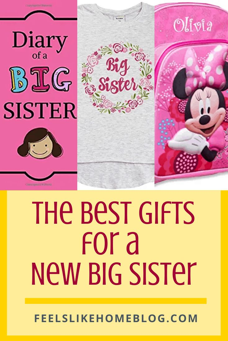 Best gift ideas for a new big sister or any older siblings