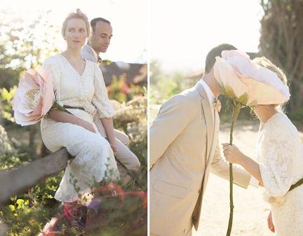Sesja ślubna folk