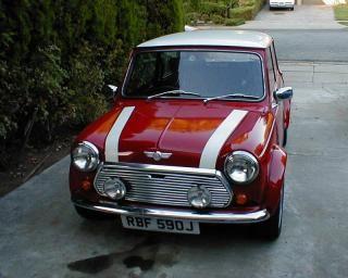 1970 Austin Mini Cooper. Yeah! Right hand drive!