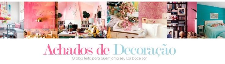 ACHADOS DE DECORAÇÃO - blog de decoração: Favorite Blog, Findings, Decor, Achado De, Reading Portugu, Decoration For, Decorating, Blog De, Blog Achados