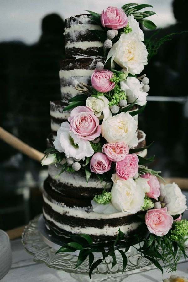 chocolate wedding cake with pink flowers 10 images about cakes on fresh flowers 12811