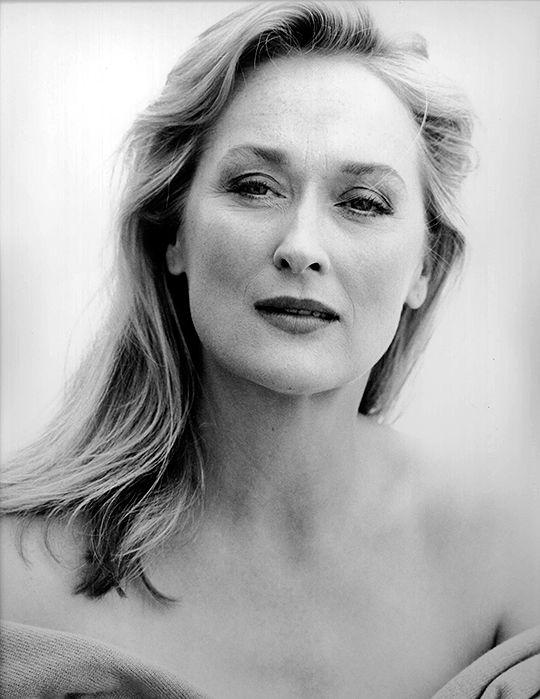 Meryl Streep photographed by Naomi Kaltman