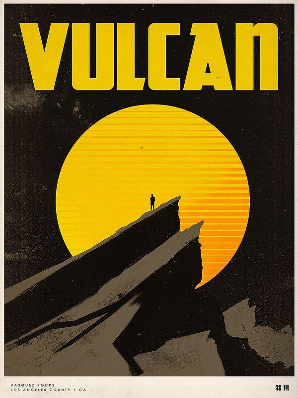 Splendid Illustrated Movie Posters by Justin Van Genderen