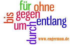 German Grammar - Präpositionen mit Akkusativ « L E A R N G E R M A N