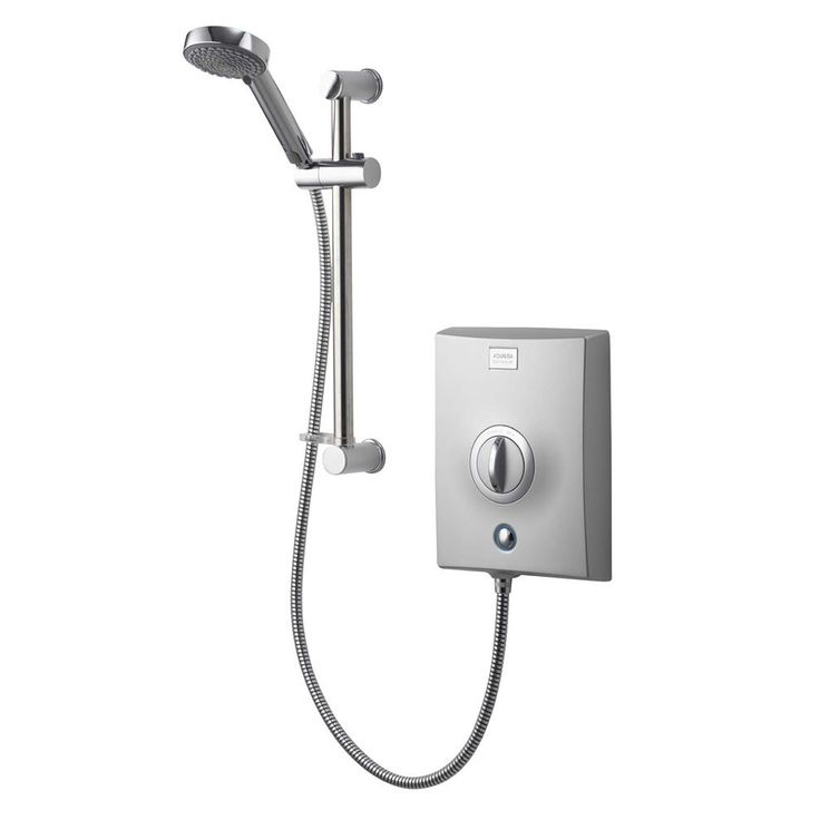 Aqualisa Quartz Electric Shower | Chrome | Victorian Plumbing.co.uk