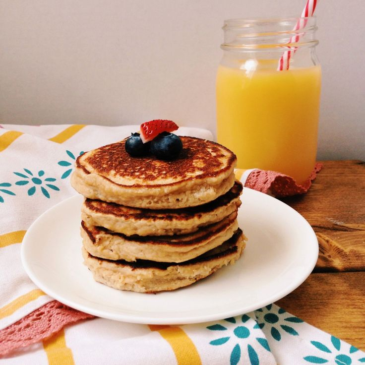 Easy Peasy Grain Free Pancakes {for one} {paleo} {gluten free}