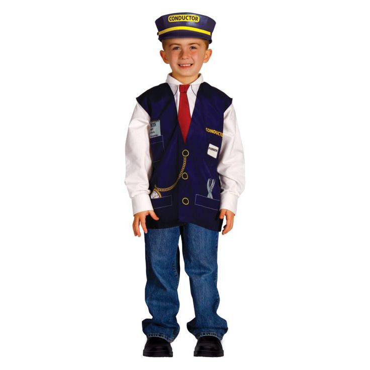 Aeromax My 1st Career Gear Train Conductor, Kids Unisex - TTRC