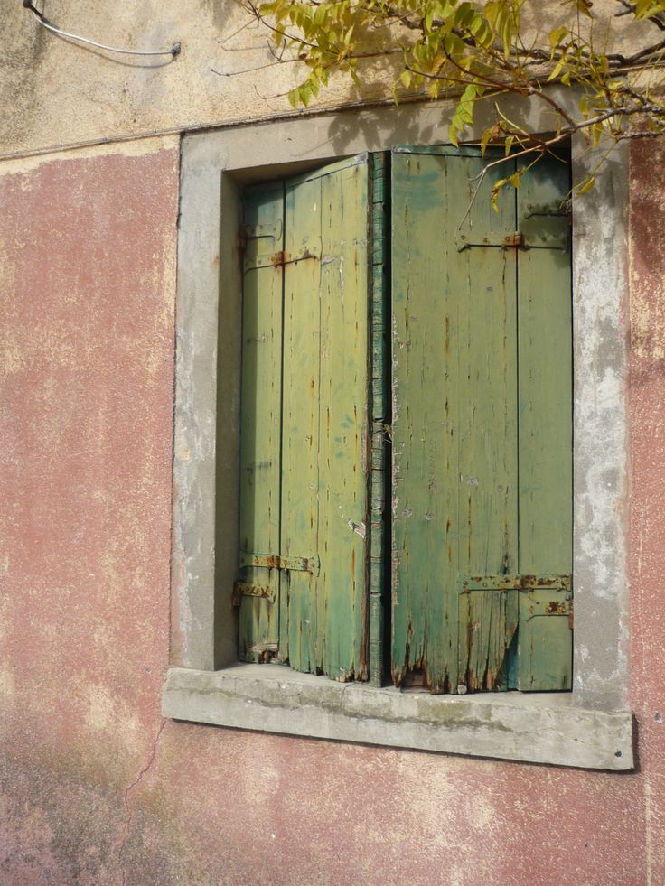 Shutters on a house on the Venetian Island of Murano......love this sooo much, it's on my lounge wall!