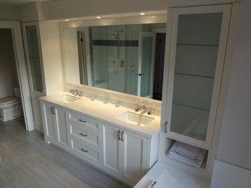 Wall Units, Closets and - contemporary - bathroom - toronto - Signature Custom Cabinets http://www.signaturecustomcabinets.com/ https://www.facebook.com/SignatureCustomCabinets