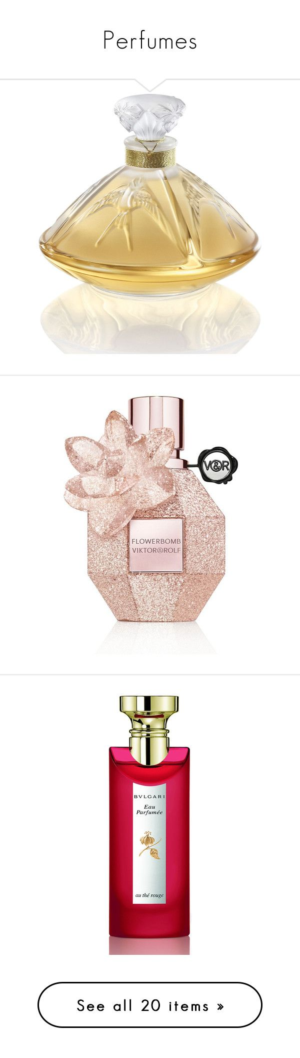 """""""Perfumes"""" by jaquemel ❤ liked on Polyvore featuring beauty products, fragrance, perfume, makeup, parfum, parfum fragrance, lalique, lalique perfume, lalique fragrance and perfume fragrance"""