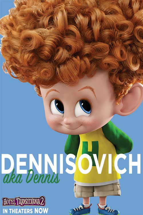 I secretly love it when my dad calls Dennis by his vampire name <3 | Hotel Transylvania 2 in theaters NOW #HotelT2